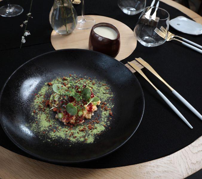 Photographie culinaire-L'Eclosion-Saint Paul en Jarez-Hubert Genouilhac