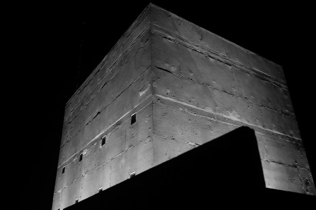Mise en lumière unité d'habitation Le Corbusier, Firminy